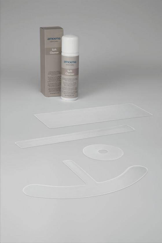 Silikon Narbenplaster für die Mamille